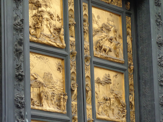 The Gates of Paradise, East doors to the Florence Baptistery - Top