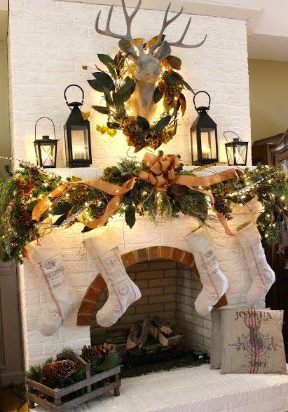 http://www.everydayhomeblog.com/2012/12/ChristmasMantel.html