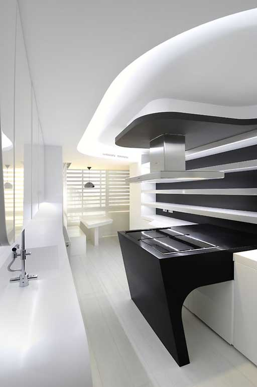 La creatividad esencial en espacios peque os cocinas - Cocinas joaquin torres ...