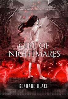 Review of Girl of Nightmares by Kendare Blake published by Tor