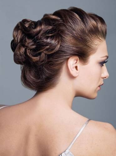 easy wedding updos for long hair