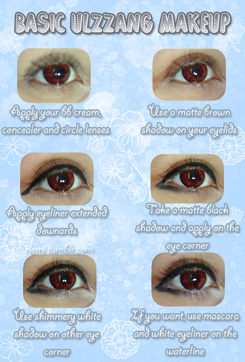 basic ulzzang makeup