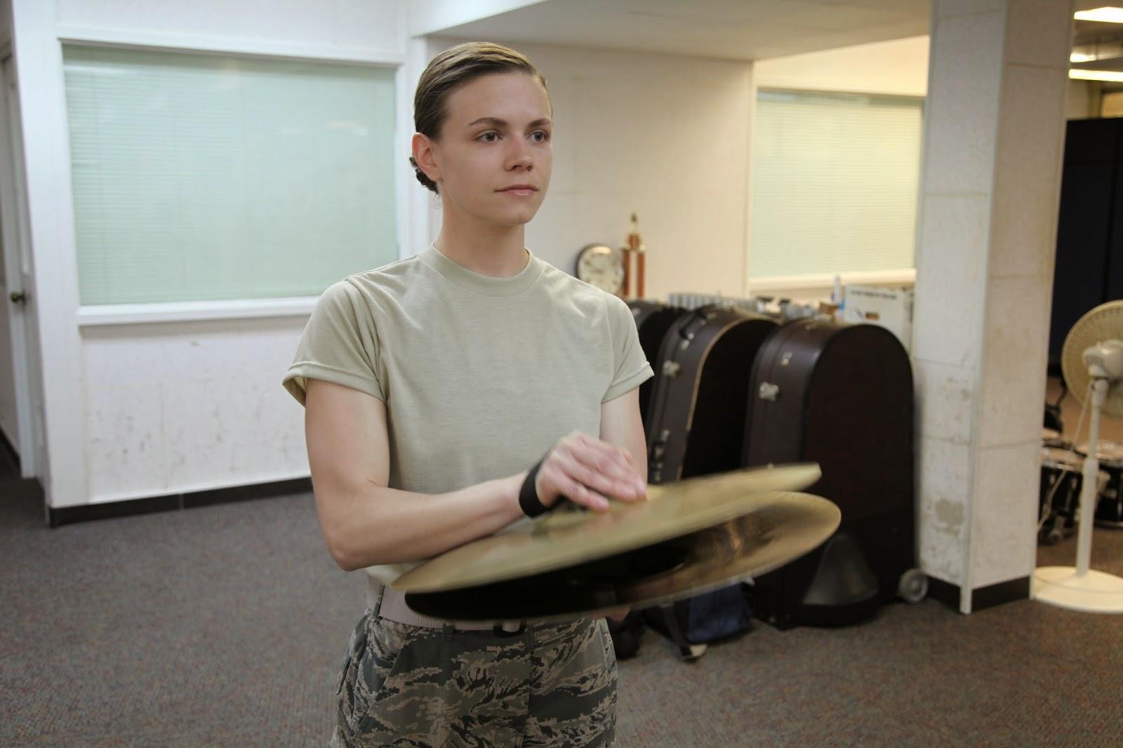 Air Force BMT Band Flight