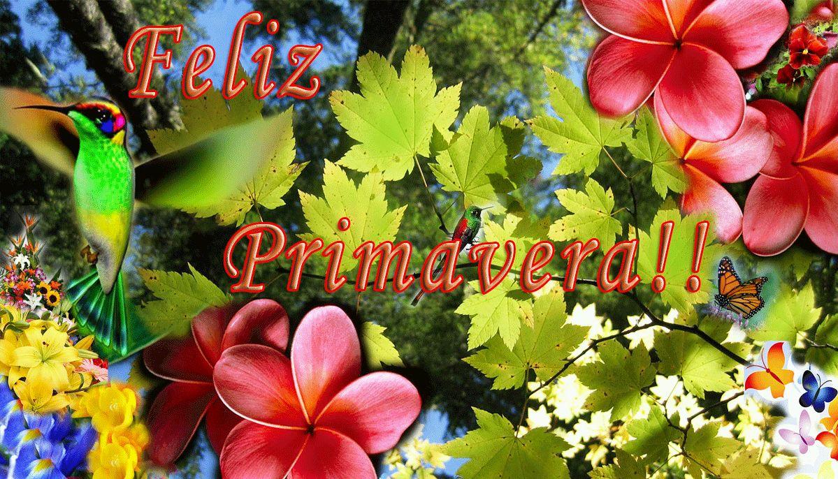 Banco de Imagenes y fotos gratis Feliz Dia de la Primavera parte 1