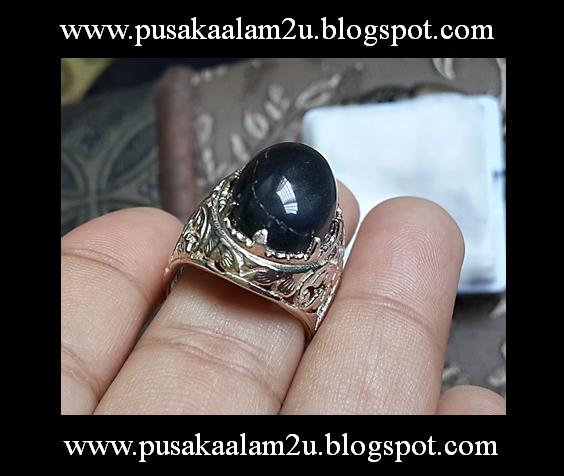 Cincin Batu Wali Ikat Perak 925 ( SOLD )