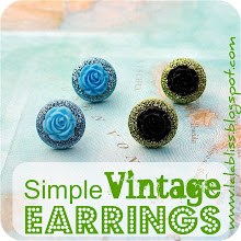 Simple Vintage Inspired Earrings [Tutorial]