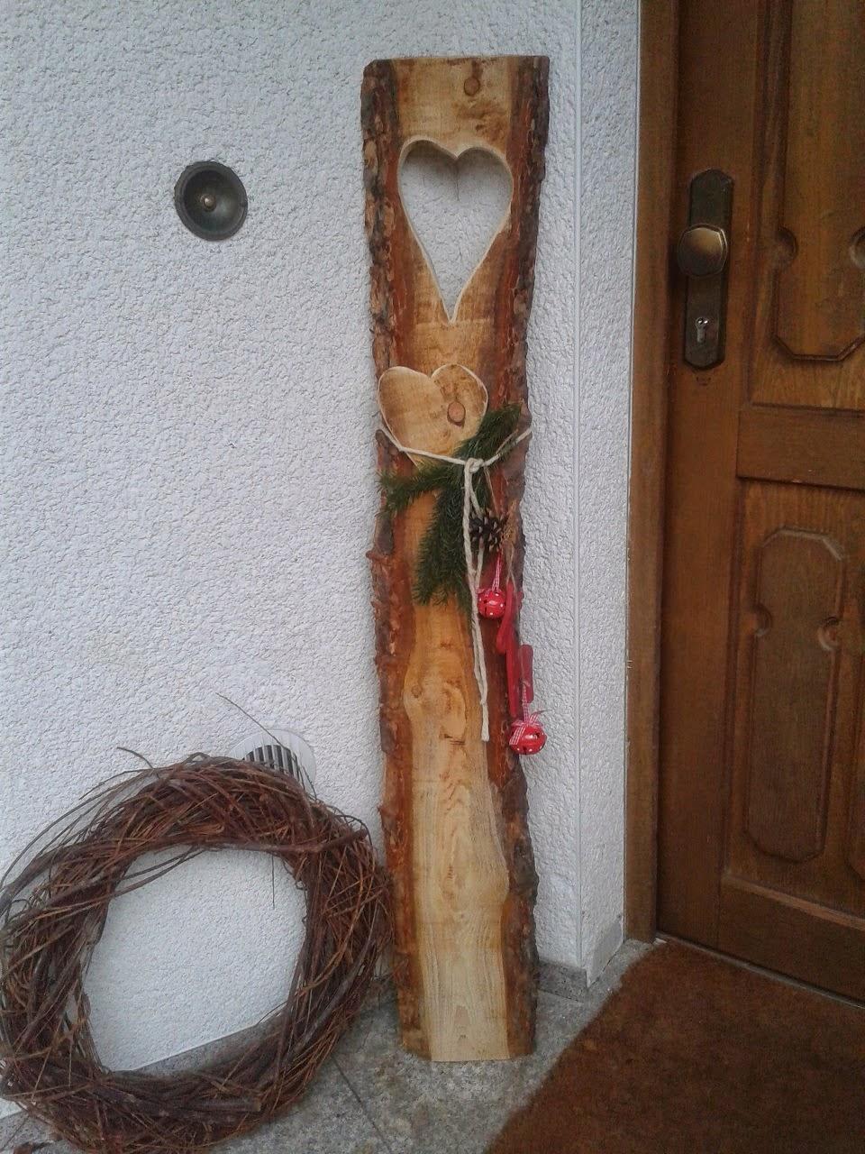 Gartendeko blog geschenk mit herz for Holz dekoartikel