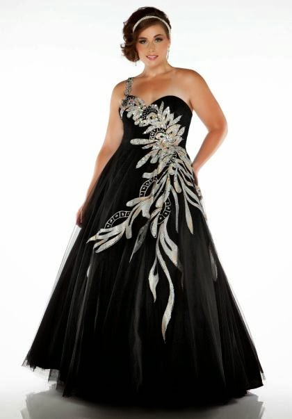 Black Plus Size Prom Dresses Gowns 2014 Prom Dresses Gowns Fashion