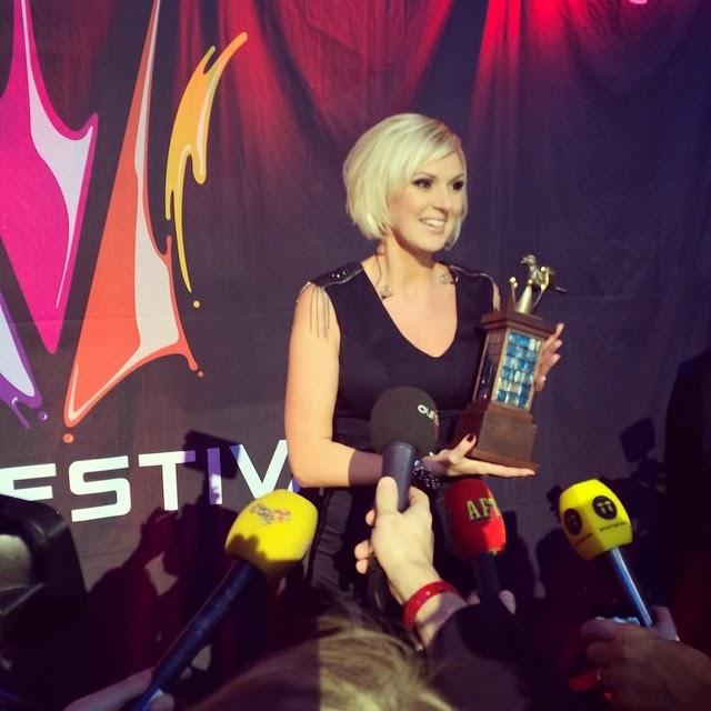 Sanna Nielsen: EUROVISION ADDICT: Sweden 2014: SANNA NIELSEN