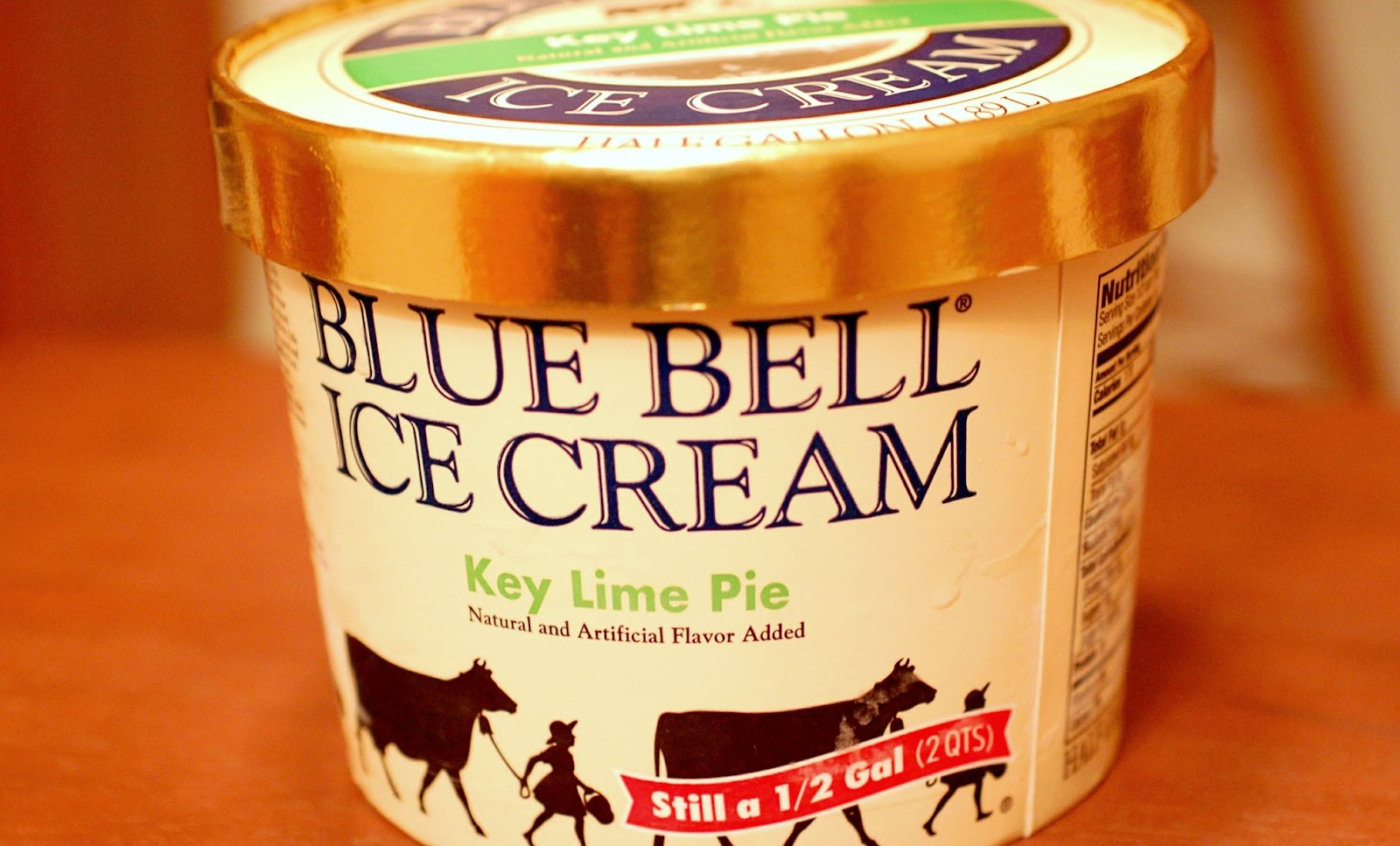 food and ice cream recipes REVIEW Blue Bell Key Lime Pie