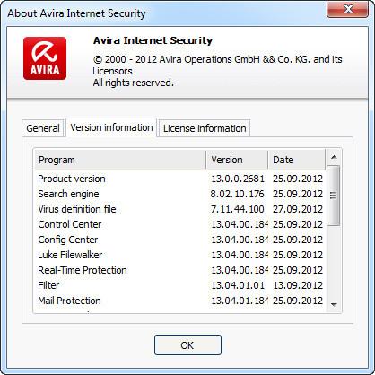 Avira Antivir Premium 2013 SS