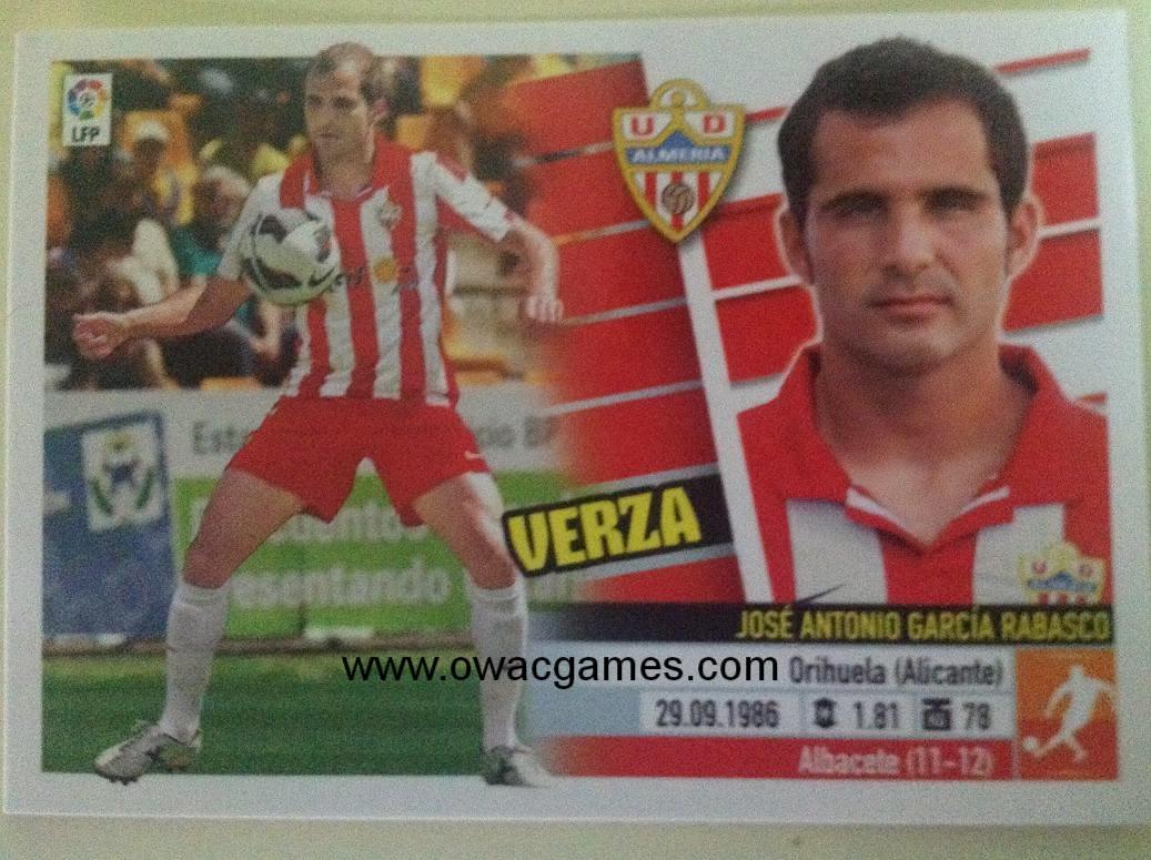 Liga ESTE 2013-14 Almeria 9 - Verza