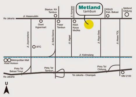 Metland Rumah Idaman Investasi Masa Depan Tambun