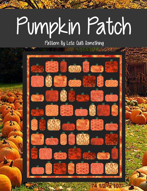 Lets Quilt Something: Pumpkin Patch - Layer Cake : pumpkin quilt pattern - Adamdwight.com