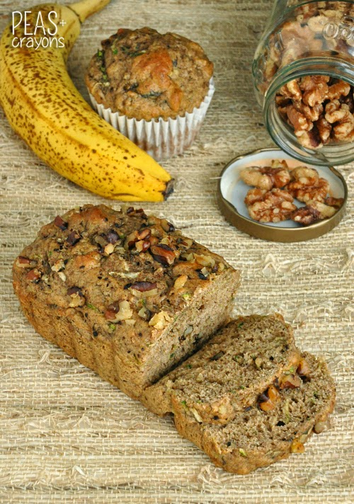 Fluffy Flax, Fruit, & Veggie Bread