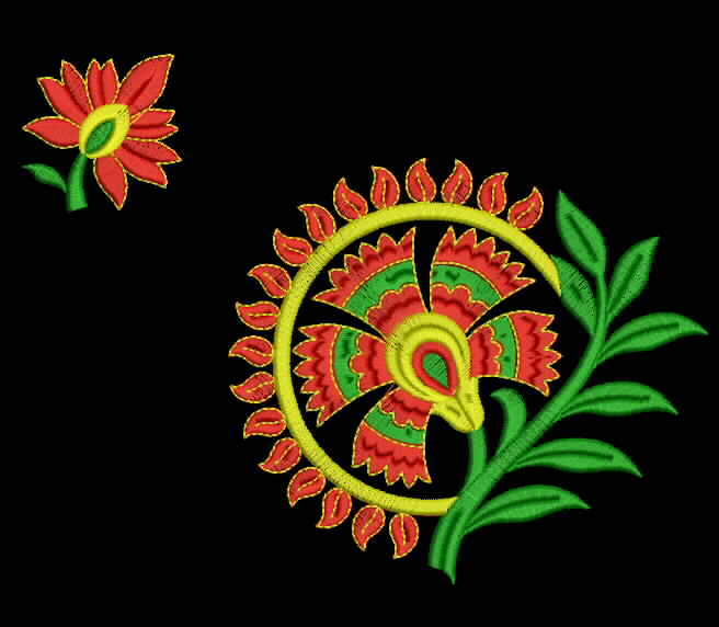 Free Embroidery Designs Embroidery Design For Saree 66