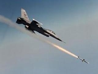 Pesawat Israel - ilustrasi serangan udara