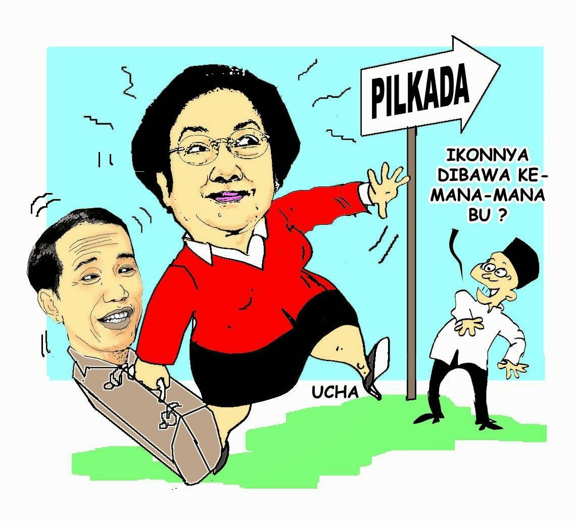 Gambar Plesetan Capres Prabowo Jokowi Download Animasi