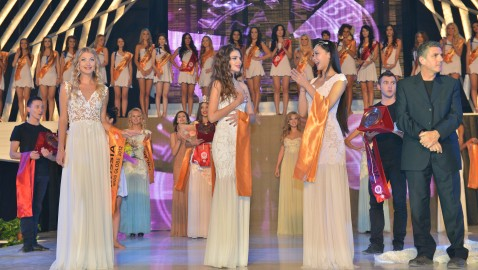 Miss Globe 2012 winner Albania Kleoniki Delijorgji