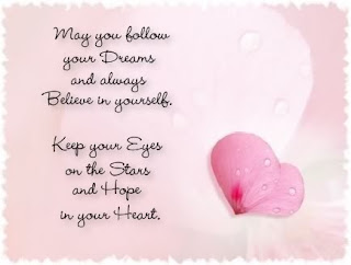 follow your dreams Love Quote and Saying