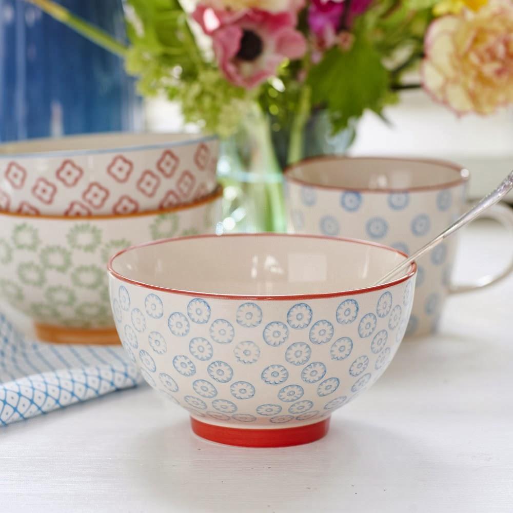 Bloomingville emma bowl large blue2