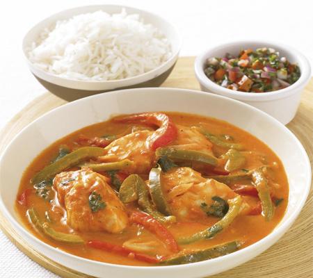 Fish in coconut stew Recipes