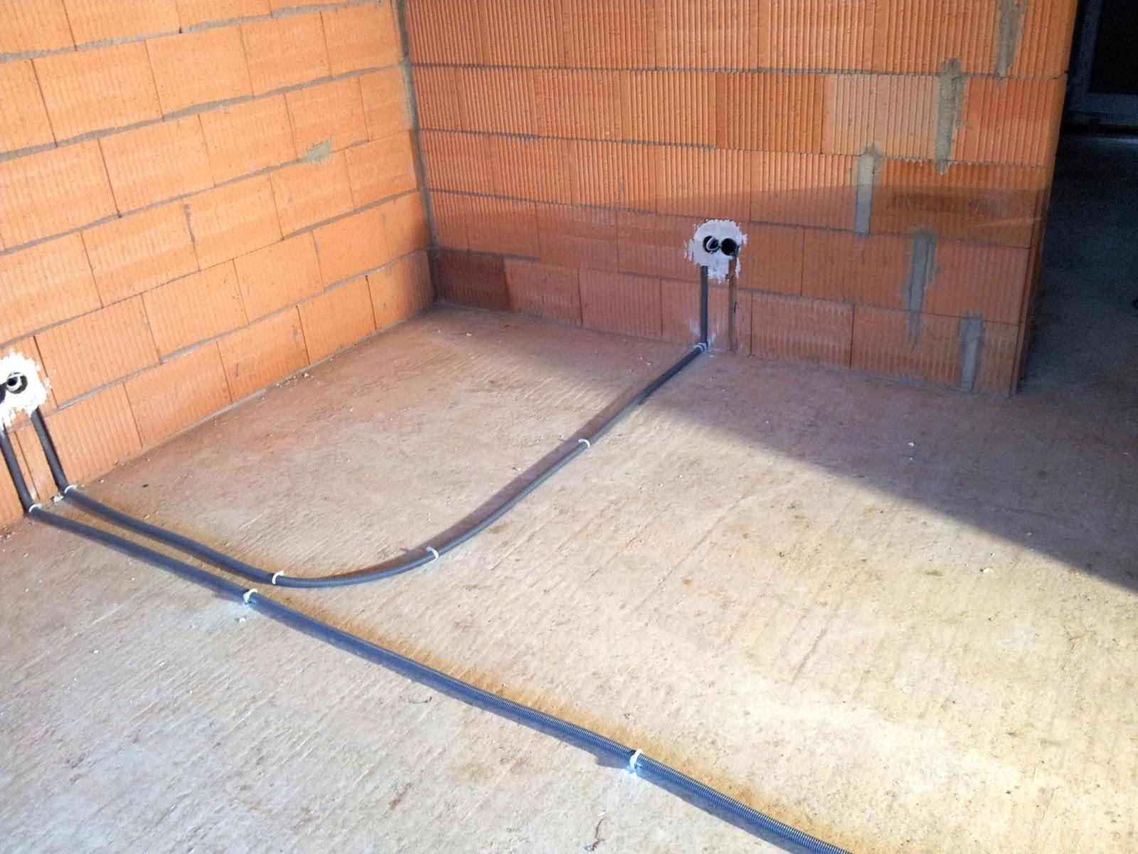 Kabel Im Fußboden Verlegen ~ Wir bauen ein haus: januar 2012