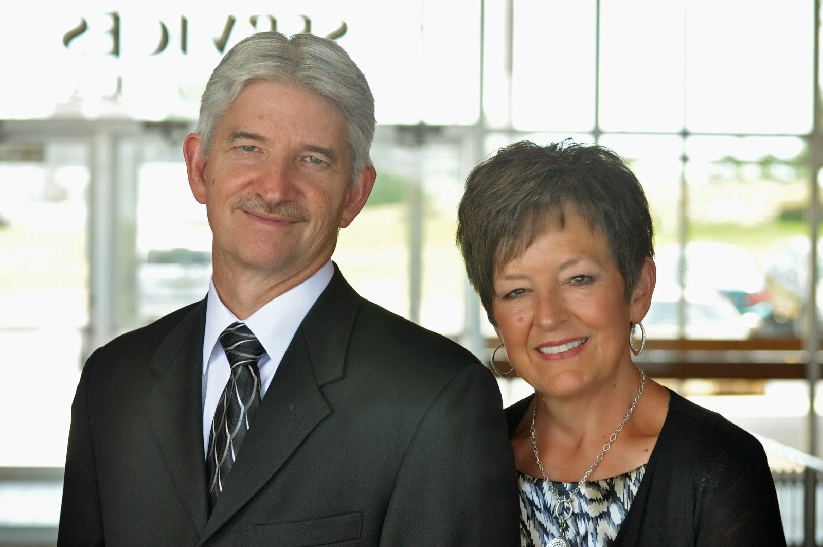 Pastor Joe and his wife Laura
