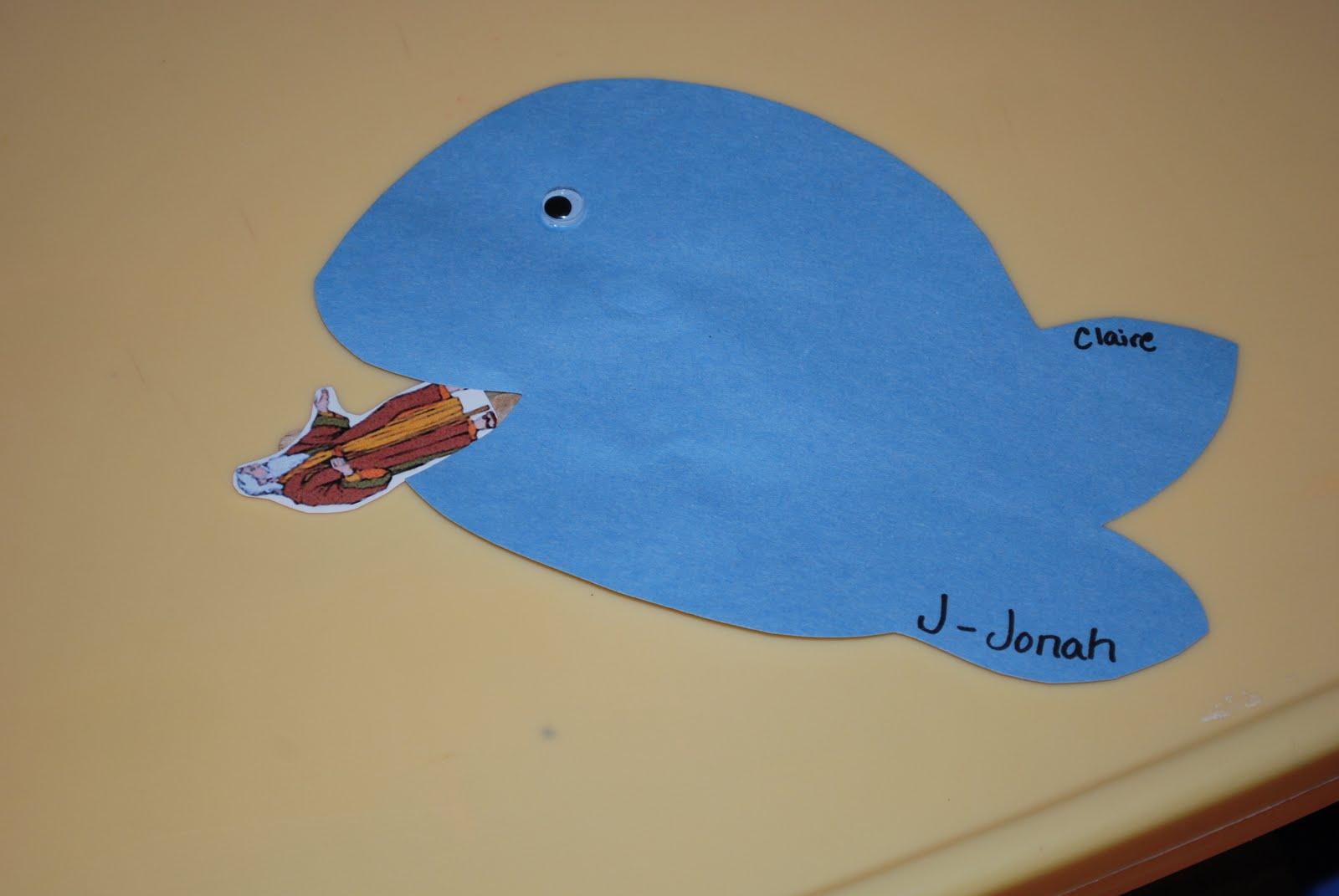 Jonah sunday school craft - Blessings For Bible School Teachers