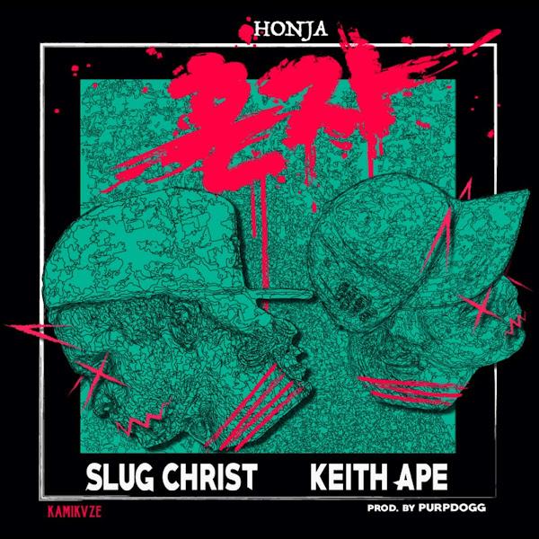 Slug Christ - Honja (feat. Keith Ape) - Single Cover