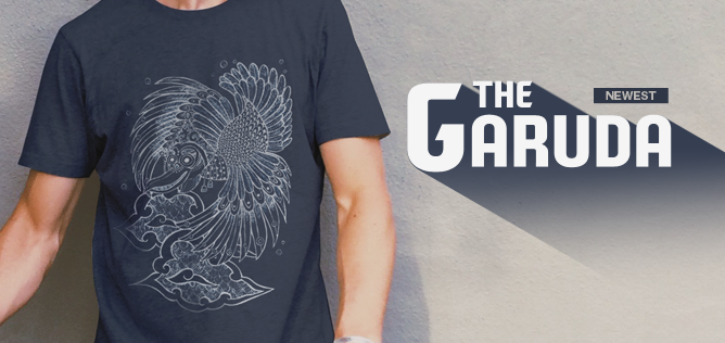 Newest - The Garuda T-shirt by Haidi Shabrina