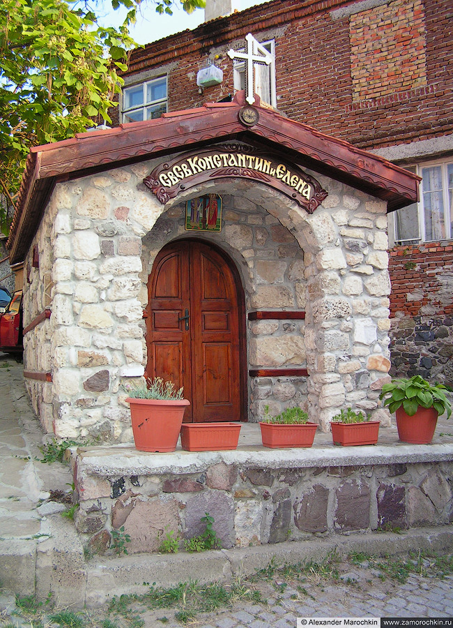 Часовня Святых Константина и Елены в Созополе | The Chapel of Saints Constantine and Helen in Sozopol