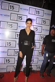 Actress Deepika Padukone Latest Pictures in Black Dress at Lakme Fashion Week 2015  4.JPG