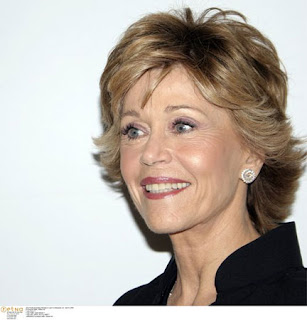 Celebrity Hairstyle: jane fonda classic bob hairstyles.