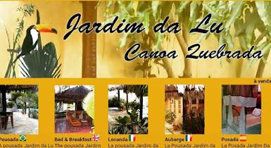 CANOA QUEBRADA - POUSADA JARDIM DA LÚ