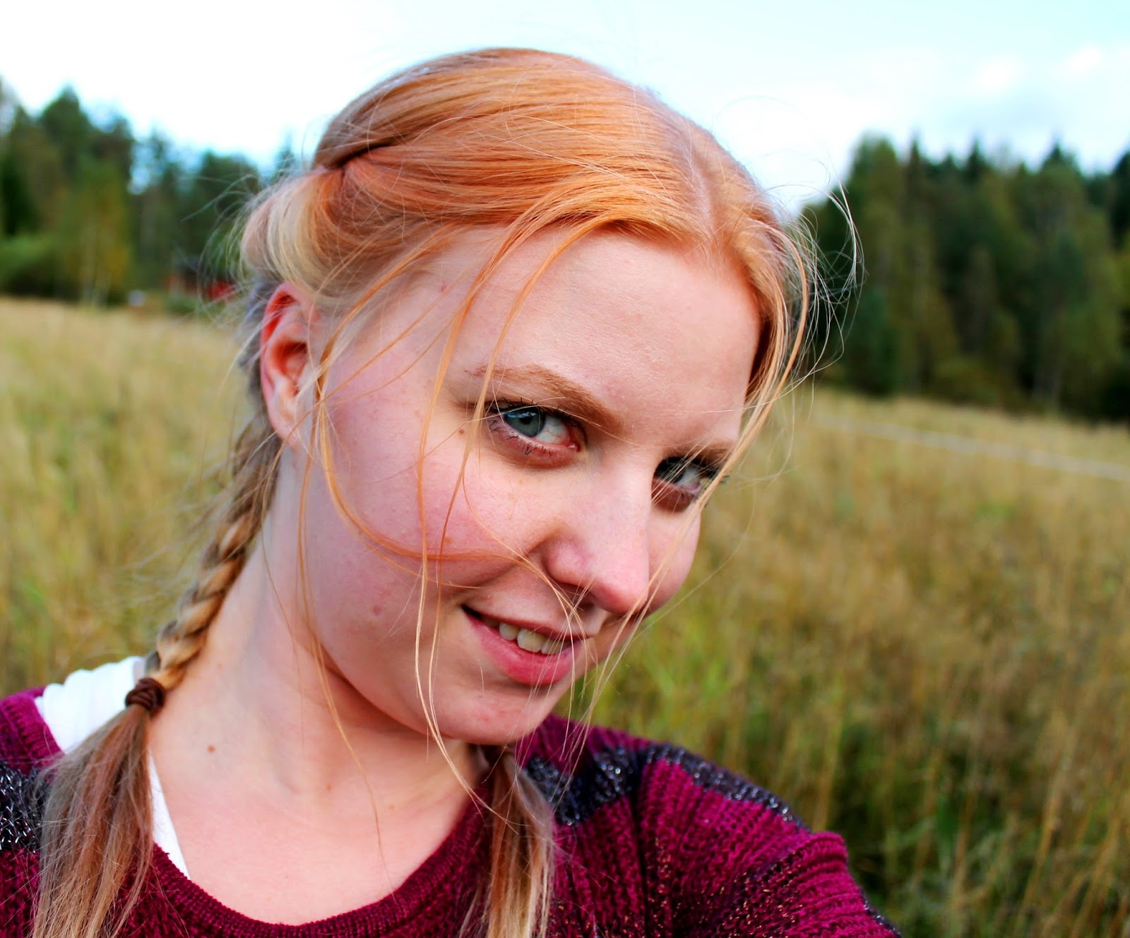#finland #fields #beauty #bautiful #girl #field #nature #landscape #scape #elovena #smile #summer #autumn #august #wonderful