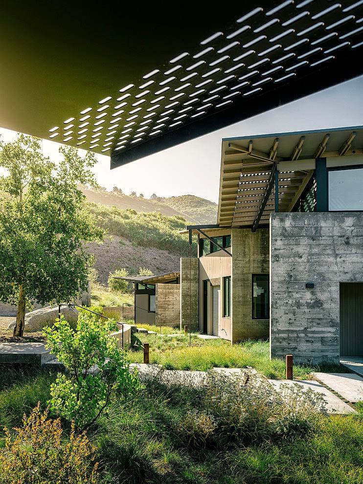Butterfly House By Feldman Architecture Inspirations Area