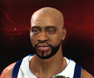 NBA 2K13 Vince Carter Cyber Face Mod