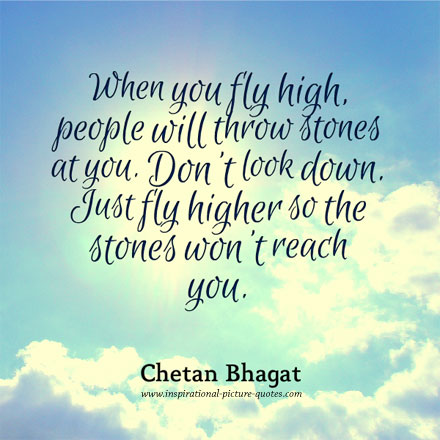 Chetan Bhagat Inspirational Quote
