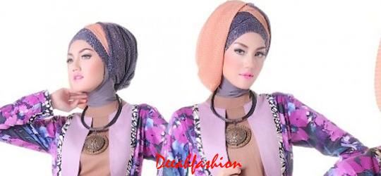 Gaya Jilbab Etnik Yang Unik Modis