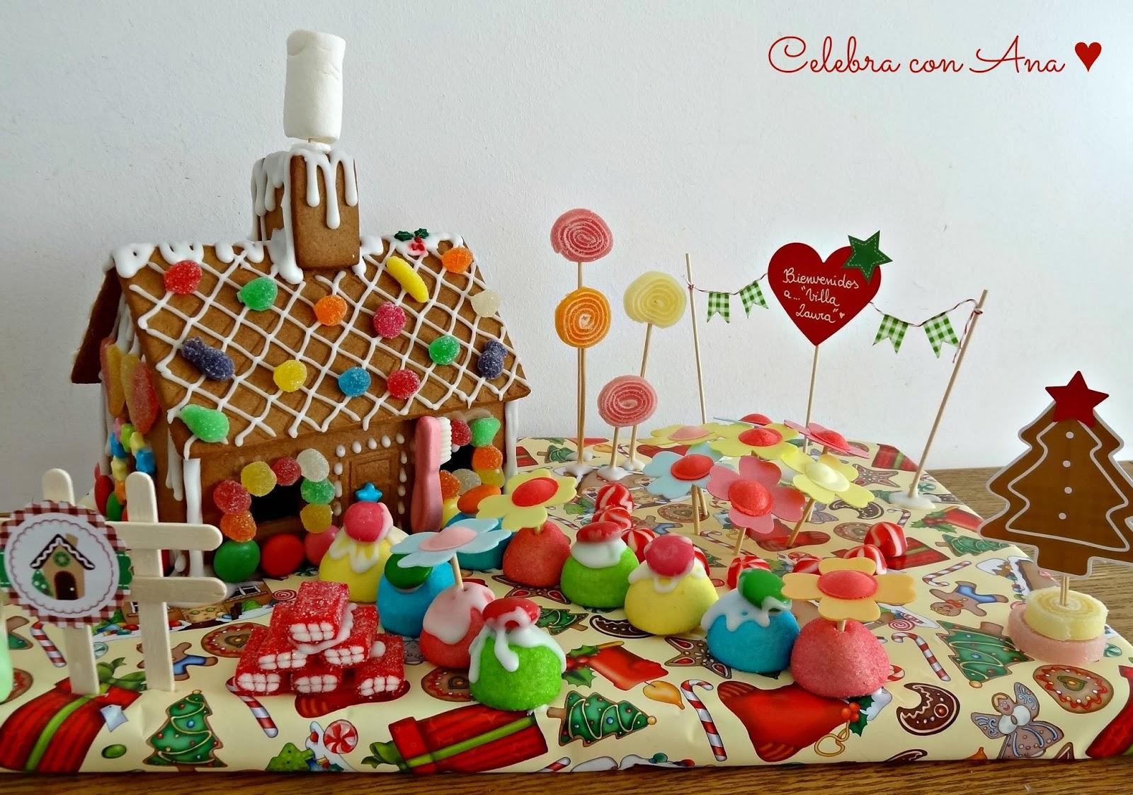 Celebra con ana compartiendo experiencias creativas - Casitas de navidad ...