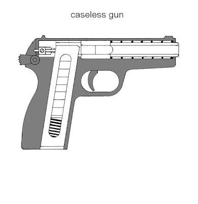 caseless gun