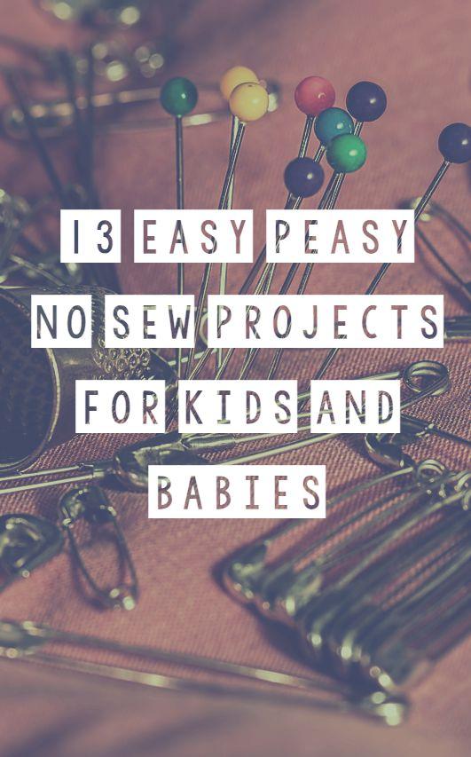 Quirky Bohemian Mama - A Bohemian Mom Blog: 13 Easy Peasy NO SEW ...