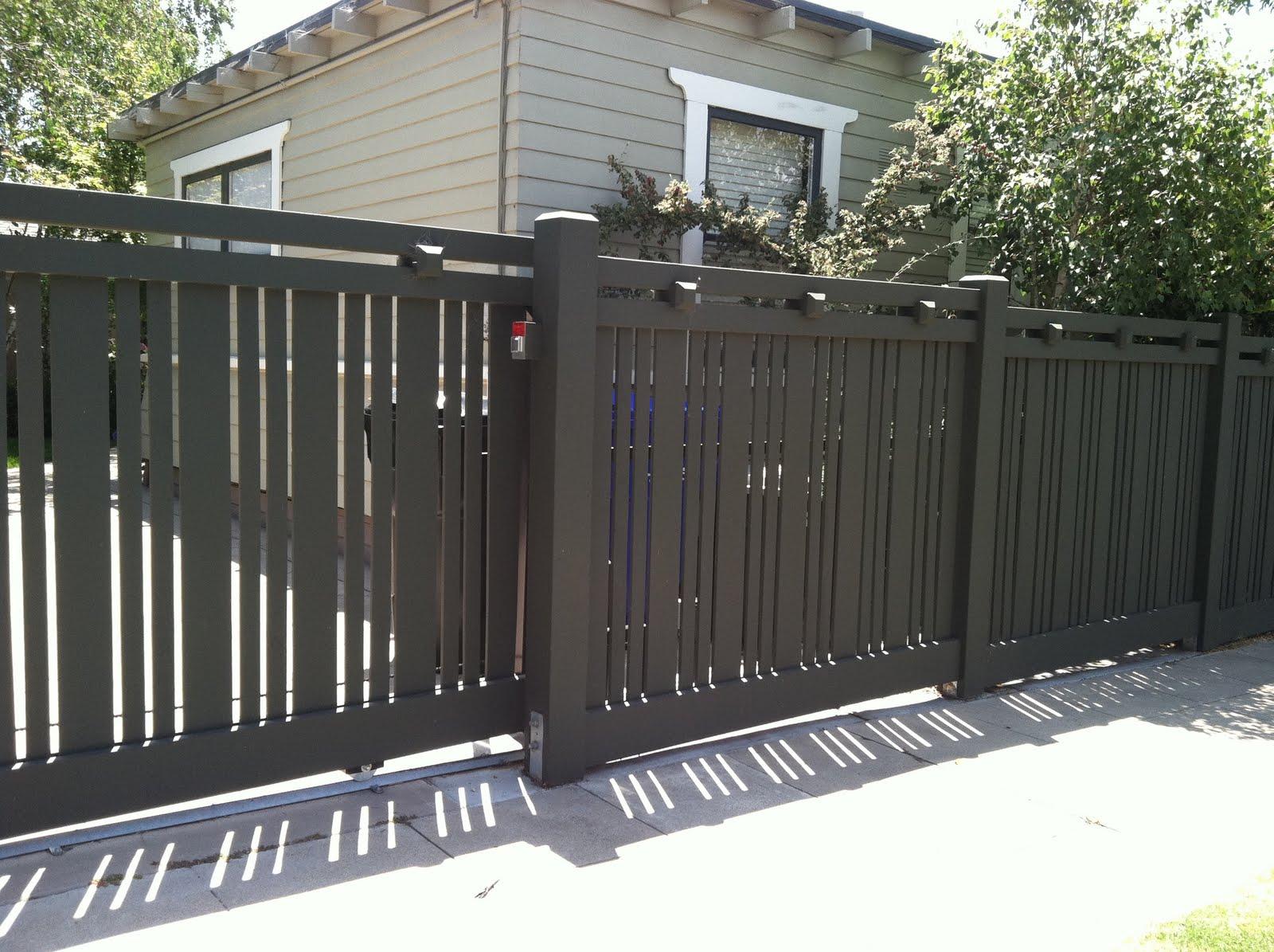 Designer Fence In Mission Hills Landscape Sage Outdoor