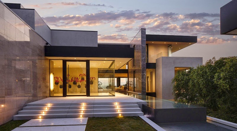 Hogares frescos la imposici n de sunset strip en los for Casas modernas los angeles