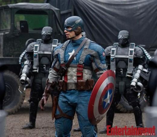 Chris Evans Capitán América
