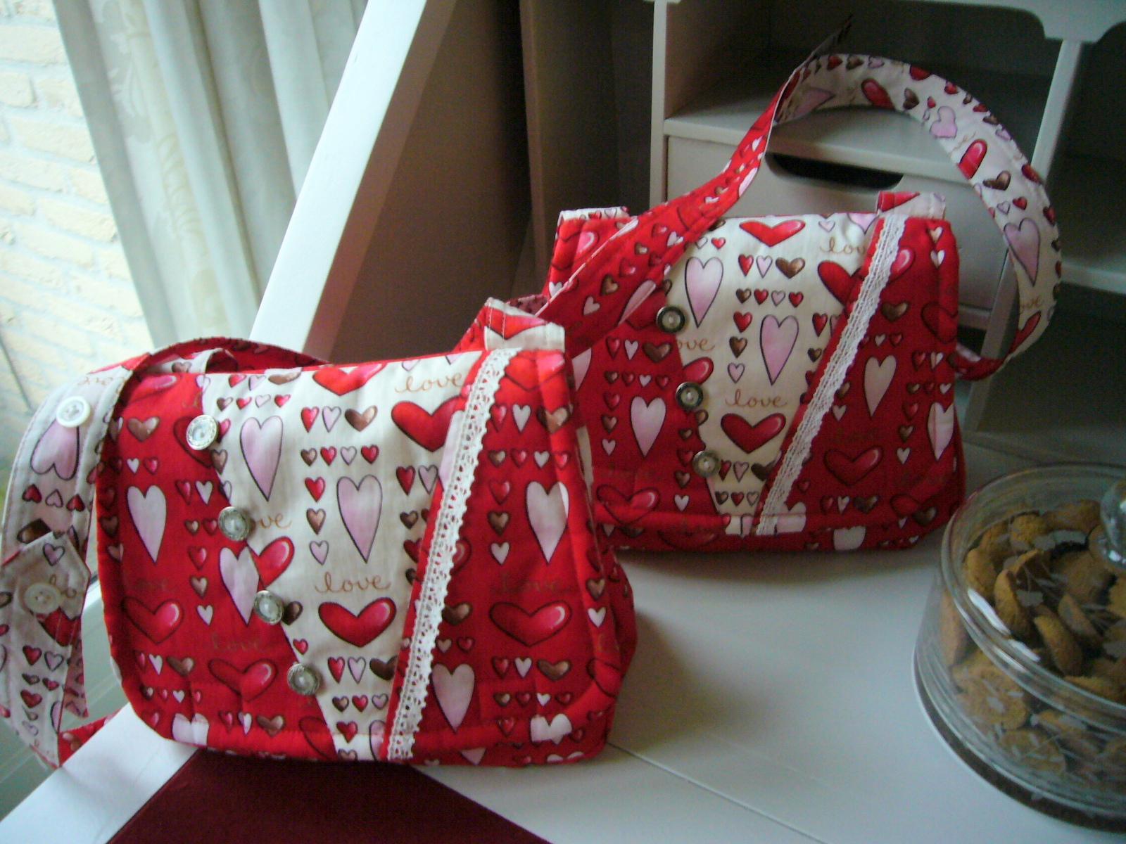 Tasjes voor Vera en Sophie