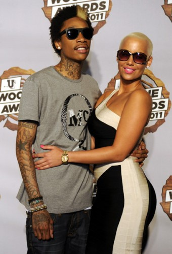 amber rose and wiz khalifa. As of lately, Wiz has been