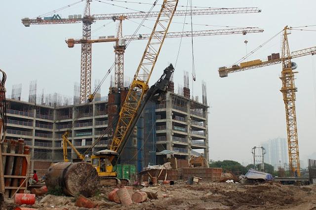 Công trình xây dựng dự án Eco Green City