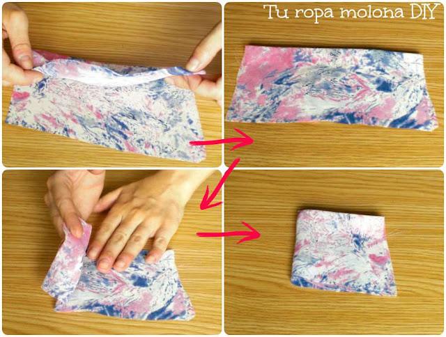 Preparar la tela